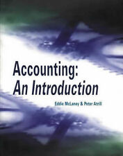 Accounting: An Introduction Atrill, Dr Peter, McLaney, Eddie Excellent Book
