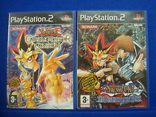 ps2 YU GI OH Capsule Monster Coliseum + Duelists of the Roses YUGIOH MINT DISCS
