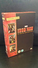 Iron Man 1-3 Trilogy (DVD, 2013, 3-Disc Set, Box Set) . NEW SEE DESCRIPTION