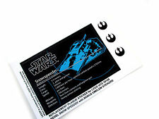 STAR WARS 'DIE CUT' REPLACEMENT STICKERS for UCS Lego 10129 REBEL SNOWSPEEDER ++