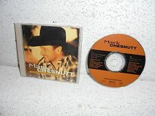 Mark Chesnutt : I Don't Want to Miss a Thing CD Single Compact Disc