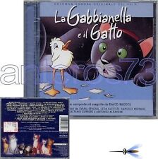 LA GABBIANELLA E IL GATTO RARE CD OST- SPAGNA STADIO BERSANI LEDA BATTISTI
