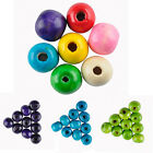 280 Pcs Round Wood Spacer Loose Beads Charms Findings Accessories Jewelry 7 mm