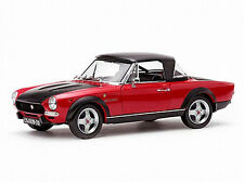 1972 Fiat 124 Spider CSA RED 1:18 SunStar 4926