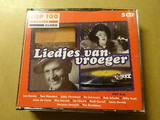 5 CD BOX / LIEDJES VAN VROEGER (HOLLANDS GLORIE TOP 100)
