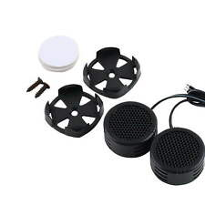 2 x 500 Watts Super Power Loud Dome Tweeter Speakers for Car 500W Pro BY