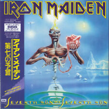 IRON MAIDEN SEVENTH SON OF A SEVENTH SON CD MINI LP OBI
