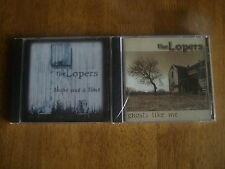 The Lopers 2 CD lot (Ghosts Like Me & There Was a Time)