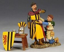 KING & COUNTRY MEDIEVAL KNIGHTS & SARACENS MK070 DRESSING FOR BATTLE MIB