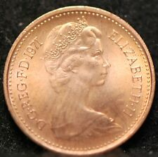 Great Britain, 1971 1/2 New Penny, Red/Brown UNC, No Reserve,                5gm