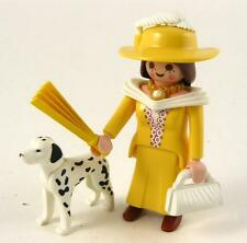 ELEGANT VICTORIAN LADY DAME FIGURE with DALMATIAN for Mansion House Playmobil