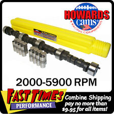 "HOWARD'S BBC Chevy Big Mama Rattler™ 289/297 553""/545"" Cam Camshaft & Lifters"