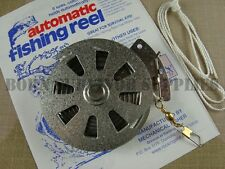 YO-YO MECHANICAL AUTOMATIC FISHING REEL Survival Kit Camping YoYo Fisher Snare