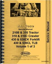 Case Backhoe & Loader Attachment Service Manual (CA-S-210B,310+)