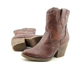Madden Girl Ramz Women US 7 Brown Western Boot Pre Owned  1482