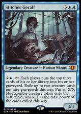 STITCHER GERALF NM mtg Commander 2014 Blue - Legendary Human Wizard Mythic
