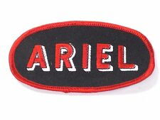 Ariel vintage classic English Motorcycle patch red black white British