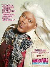UNBREAKABLE KIMMY SCHMIDT Emmy Consid'tion advertisement Tituss Burgess Netflix