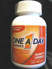 ONE A DAY WOMEN'S FORMULA MULTIVITAMIN / MULTIMINERAL SUPPLEMENT 120 TABS 5-2017