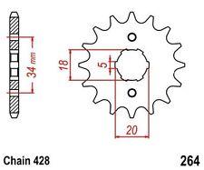 KR Ritzel 16 Z Teilung 428 DERBI R 125 / Senda 125 / SM 125 04-07 front sprocket