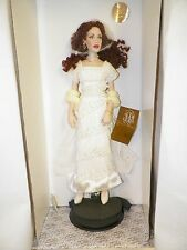 FRANKLIN MINT ROSE TITANIC PORCELAIN PORTRAIT DOLL REUNITED NIB COA WHITE DRESS