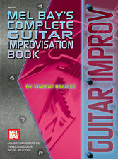 MEL BAY'S COMPLETE GUITAR IMPROVISATION BOOK NEW