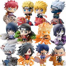 12pcs Naruto Shippuden Akatsuki Kakashi Uzumaki SASUKE Itachi Figure Anime