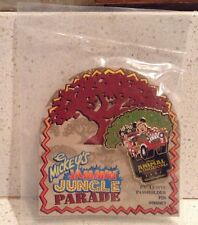 Mickey's Jammin' Jungle Parade Pin Animal Kingdom 2002 Passholder NEW Minnie