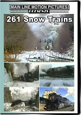 261 Snow Trains DVD Main Line Milwaukee Road 261 DL&W Main train video
