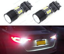 2x 3156 3056 White 6000K Projector Cree Q5+12-SMD LED Back Up Reverse Light Bulb