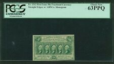 """1862-63 50 Cent Fractional Currency Fr-1312 Certified Pcgs """"Choice New"""" 63-Ppq"""