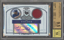 Prince Fielder 2006 Bowman Sterling Signed Rookie Card rC BGS 9.5 Gem Auto 10