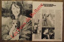 Article Charlotte Rampling,photos  ,1980 , clipping