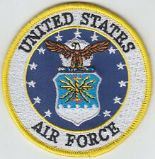 "United States Air Force USAF Logo 3"" round patch Full Color Version US"
