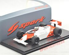 NEW 1/43 Spark S4301 McLaren MP4/1, Monaco GP 1981, Andrea de Cesaris #7