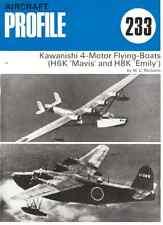 AERONAUTICA AIRCRAFT Publications Profile 233 Kawanishi 4-Motor Flying-Boats DVD