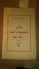 Pierre Andreux - J'ai mal commencé ma vie - 1951