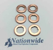 VW Phaeton 3.0 TDI 4Motion Common Rail Diesel Injector Washers/Seals x 6