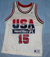 Vintage Magic Johnson USA Dream Team 1992 Olympics Champion Jersey Sz 44 NBA