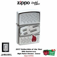 Zippo 2017 Collectible of the Year, 85th Anniversary Lighter, Armor #29442