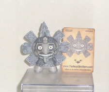 Kidrobot Dunny Azteca II Beast Brothers 2012 Calendario 2 (no box or wrapper)