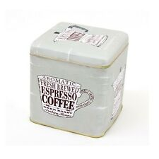 Storage Tin - Square Coffee Storage Tin, ECP Design. Specialist range