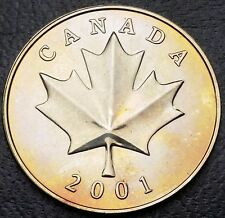2001 Royal Canadian Mint Medallion Coin - Mint Condition - Free Combined S/H