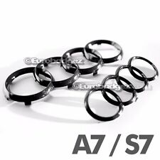 Audi A7 S7 Grill + Trunk Gloss Black Rings Badge Emblem Pre-Facelift A7 S7 GB