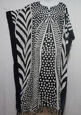Womens Caftan Dress Dashiki Kaftan African Maxi Beach Boho w/headpiece Plus Size