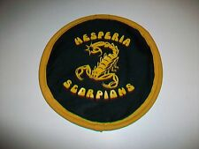 Hesperia Scorpions High School cloth fabric floppy flying disc