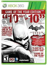 NEW - Batman: Arkham City (Game of the Year Edition)