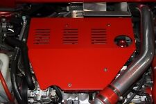 Mitsubishi Lancer Evolution Evo 10 X Racing Speed Red Aluminium Engine Cover Kit