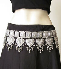 Tribal BELT | Bellydance Costume Skirt Hip Scarf Jewelry Gypsy Hippie Kuchi Boho