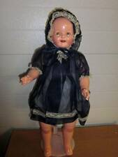 """Unbranded~Antique/Vintage 1920-30's Fully Restored 21""""Composition/Cloth Doll"""